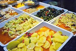 现捞有哪些素菜哪家的比较好吃!