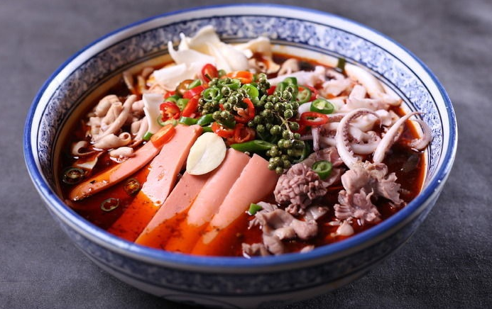 火锅冒菜在家简要制作的做法,好吃还过瘾!