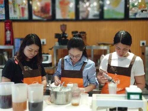 成都大邑哪里能学做奶茶?