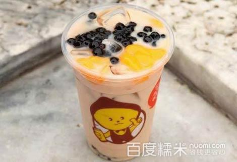 成都双拼奶茶的做法,双拼奶茶图片