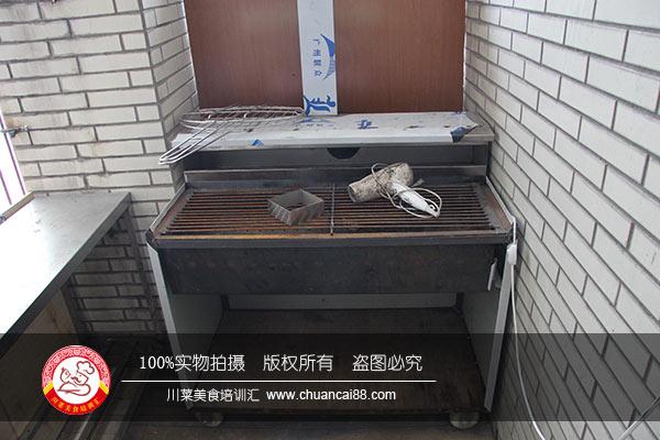 烧烤操作台